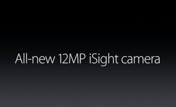 iPhone 6S的确配置了1200万像素的后置摄像头