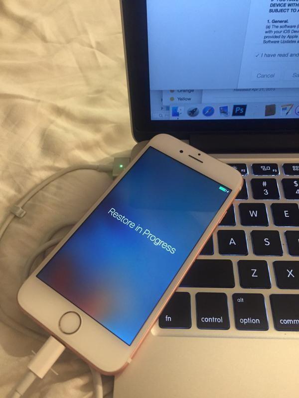 玫瑰金版 iPhone 6S
