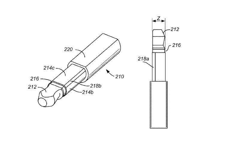 iPhone耳机插孔 专利