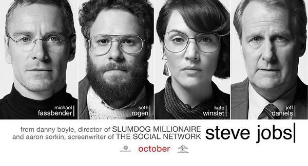 乔布斯传记电影上映,那就是《Steve Jobs》